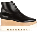 Stella McCartney Elyse lace-up platform ankle boots