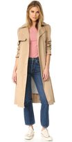 Rebecca Taylor Twill Trench Coat