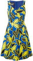 Moschino printed A-line dress - women - Cotton/other fibers - 44