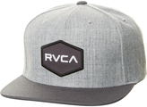 RVCA Commonwealth Snapback Cap Grey