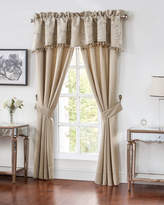 """Waterford Two Chantelle Stripe Jacquard Curtains, 84""""L"""