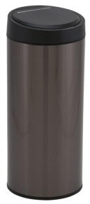 Household Essentials Stainless Steel 30L Pacific Round Sensor Trash Can