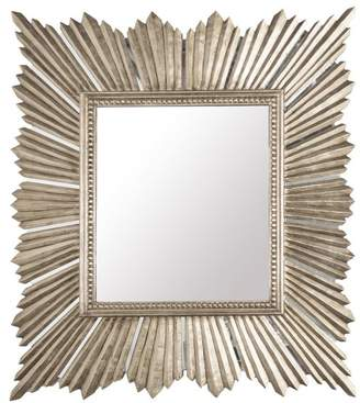 Worlds Away Raymond Mirror, Gold, Mirror