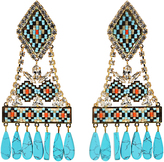 Shourouk Ramses clip-on earrings