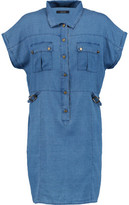 J Brand Kayden Chambray Mini Dress