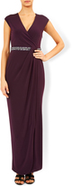 Monsoon Adrianna Shorter Length Embellished Maxi Dress