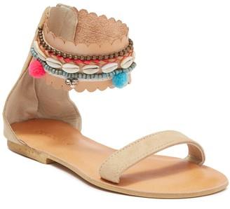 Cocobelle Flores Ankle Strap Sandal