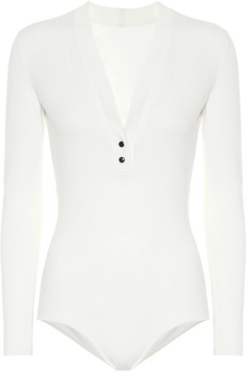 Alaia Wool-blend bodysuit
