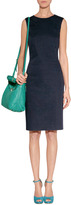 Paul Smith Black Navy/Turquoise Cotton Dotted Dress