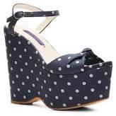 Ralph Lauren Erista Fabric Wedge Sandal