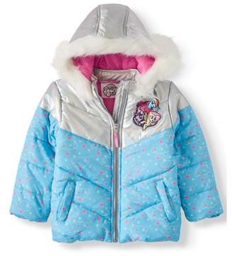 My Little Pony Toddler Girl Winter Jacket Coat