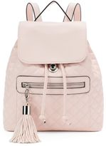 Candies Candie's® Darcy Quilted Drawstring Backpack