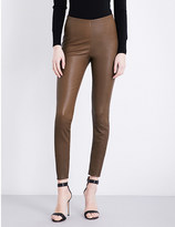 By Malene Birger Elenasoo high-rise leather leggings