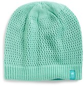 The North Face Girl's 'Shinsky' Reversible Beanie - Blue/green