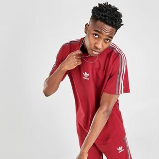 adidas Men's Multi-Colored 3-Stripes T-Shirt