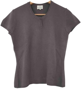 Eric Bompard Purple Cashmere Top for Women