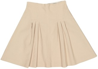 Valentino Beige Cotton Skirts