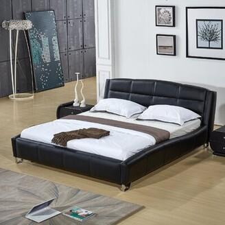 Orren Ellis Sharron Upholstered Platform Bed Size: California King