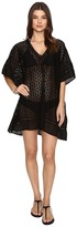 Jets Pure Embroided V-Neck Kaftan Cover-Up