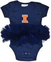 Baby Illinois Fighting Illini Tutu Bodysuit