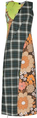 Rave Review Novah sleeveless midi dress
