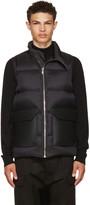 Rick Owens Black Down Mollino Vest