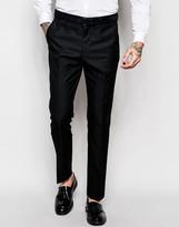 Asos Slim Tuxedo Trousers
