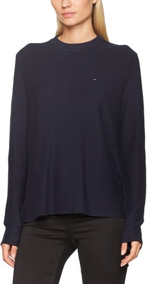 Tommy Jeans Women's Basic Round Collar Jumper