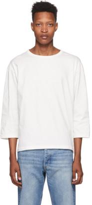 Hope White Three-Quarter Sleeve T-Shirt