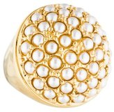 St. John Faux Pearl Cluster Cocktail Ring