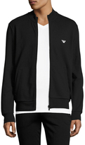 Emporio Armani French Terry Lounge Zip-Up Jacket