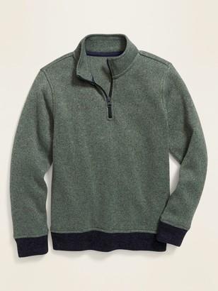 Old Navy Sweater-Fleece 1/4-Zip Pullover for Boys