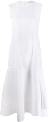 Nina Ricci Sleeveless Pleated Midi Dress