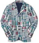 Ralph Lauren 8-20 Madras Patchwork Sport Coat