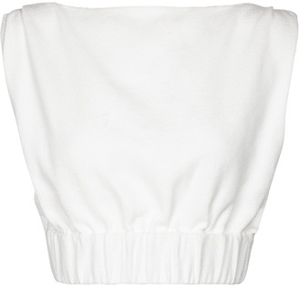 Sir. Yves cotton-blend top
