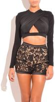 Misha Moira Lace Shorts