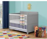 Altra Willow Lake Grey and White Crib by Cosco