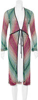 Missoni Knit Tie Cardigan