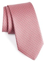 Salvatore Ferragamo Men's Geometric Silk Tie