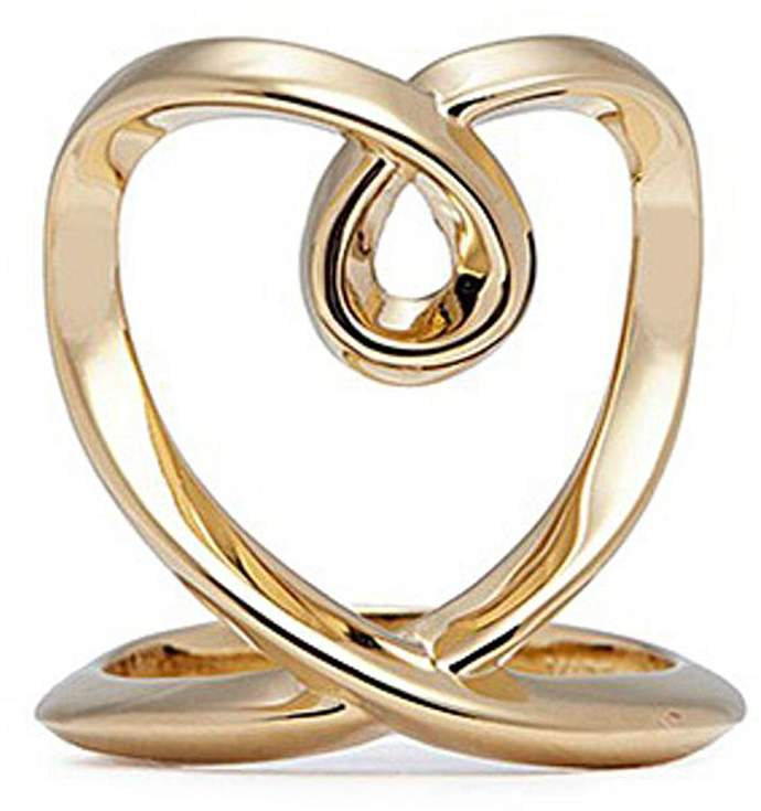 Chloé 'Heart' twist band ring