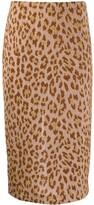 Semi-Couture Semicouture leopard print pencil skirt