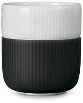 Royal Copenhagen Contrast Mug - Anthracite black/white
