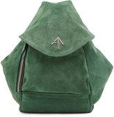 Manu Atelier Mini Fernweh Suede Backpack