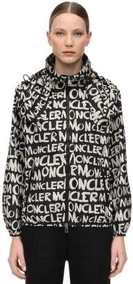 Moncler Hanoi Hooded Nylon Jacket