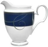 Noritake Platinum Wave Indigo Porcelain Creamer