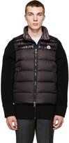 Moncler Black Down Dubres Vest