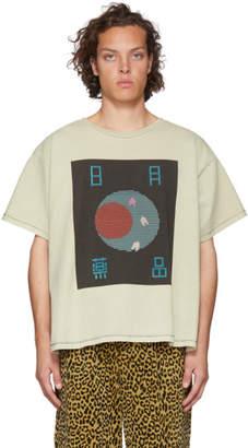 Off-White Worstok Sun Moon Drugs T-Shirt