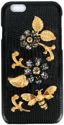 Dolce & Gabbana Crystal Embellished iPhone 6 Case