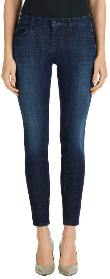 J Brand Dark Denim Skinny Jeans