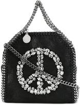 Stella McCartney crystal peace mini Falabella tote - women - Artificial Leather/Metal (Other)/glass - One Size